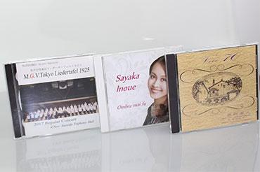自主制作CD